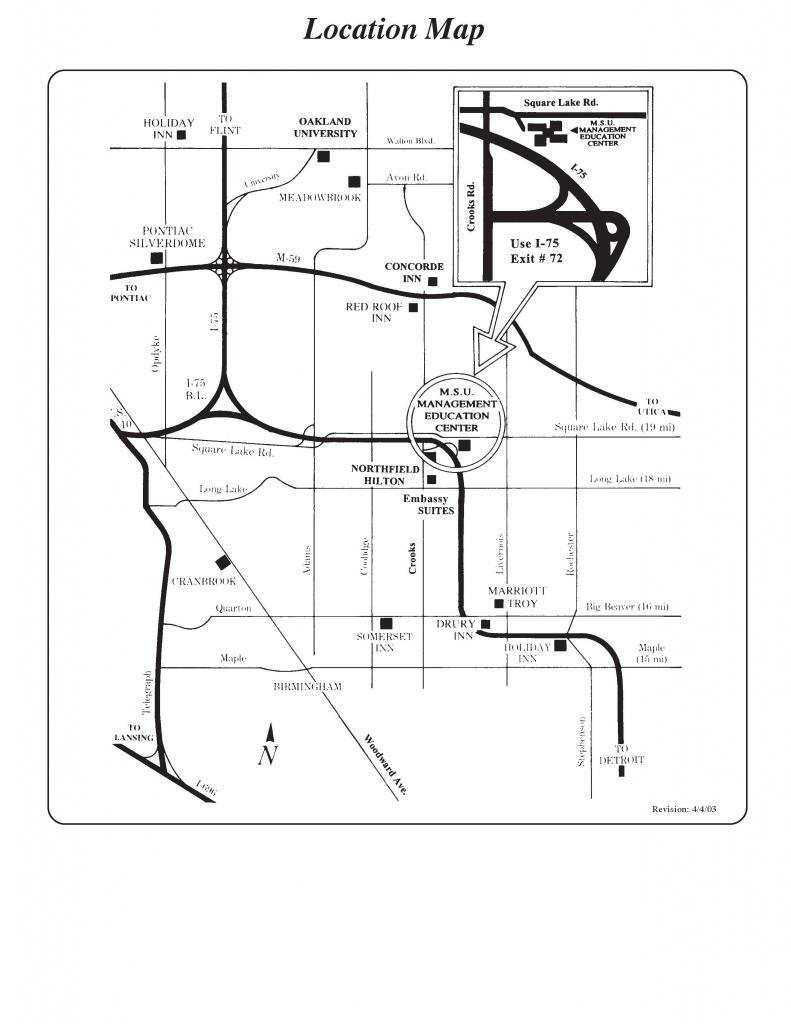 3 Location Map